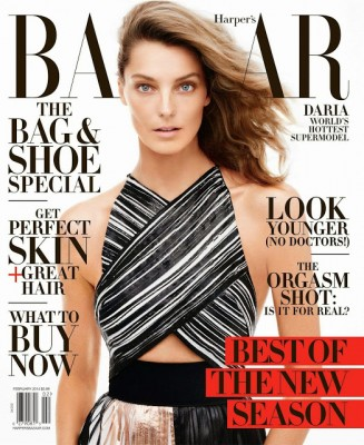 Harpers-Bazaar-US-February-2014-Daria-Werbowy-Magazine-Cover