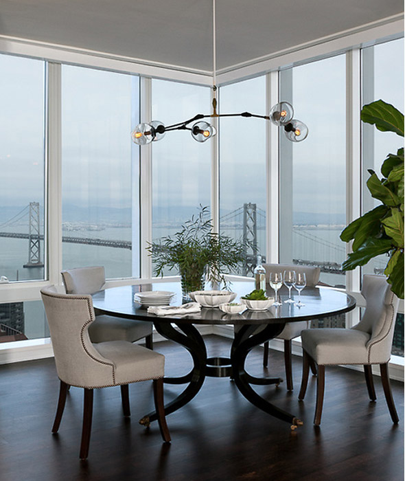 San Francisco Dining Room Designed by Grant K. Gibson at grantkgibson.com