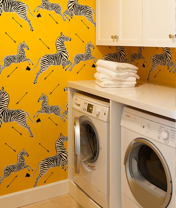 Laundry Room Designed by Grant K. Gibson at grantkgibson.com
