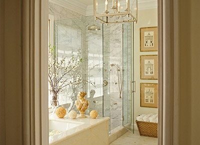 Bathroom Designed by Grant K. Gibson at grantkgibson.com