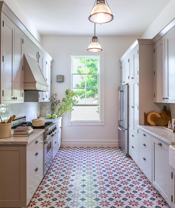 Image Result For Grey Floor Kitchen