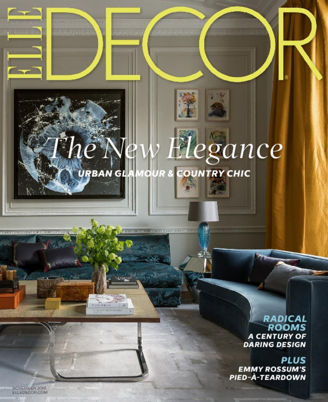 Grant K Gibson 5667 Elle Decor Cover 2016 November 1 Issue Grant