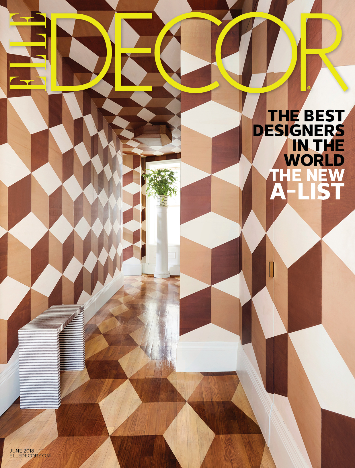 Grant K Gibson Elle Decor June Cover Grant K Gibson
