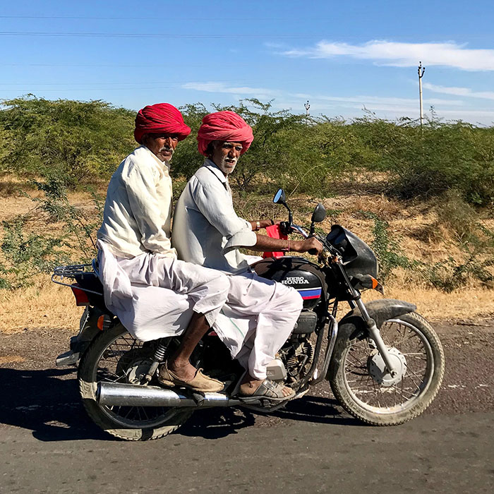 Travel to India with Grant