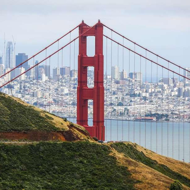 Travel with Grant to San Francisco, West Marin/Sonoma County, and Healdsburg