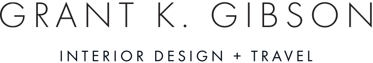 Grant K. Gibson | Interior Design