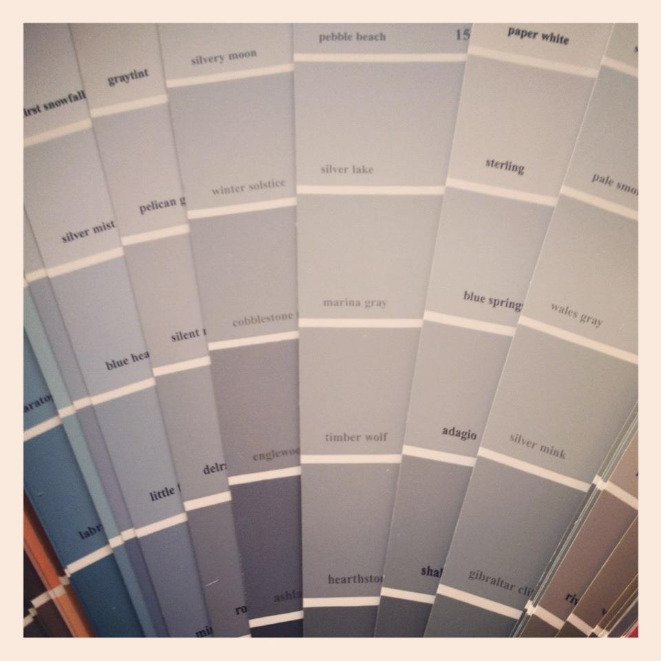 Grant K Gibson Fifty Shades Of Grey Grant K Gibson: shades of grey interior paint